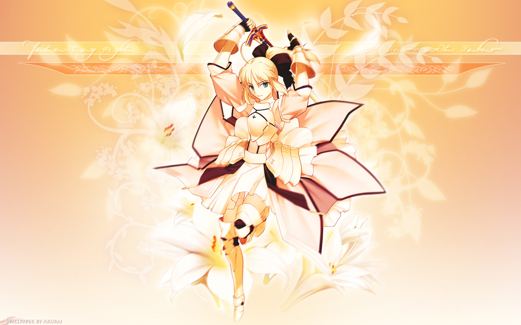 fate_(series) fate/stay_night saber_lily