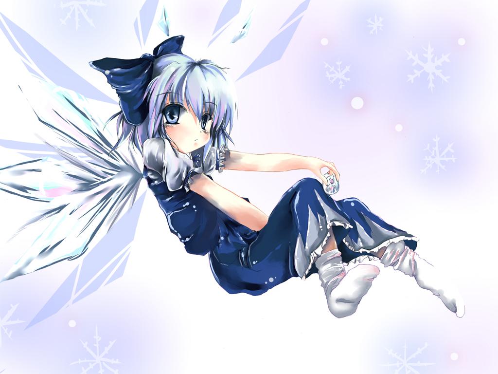 cirno fairy touhou
