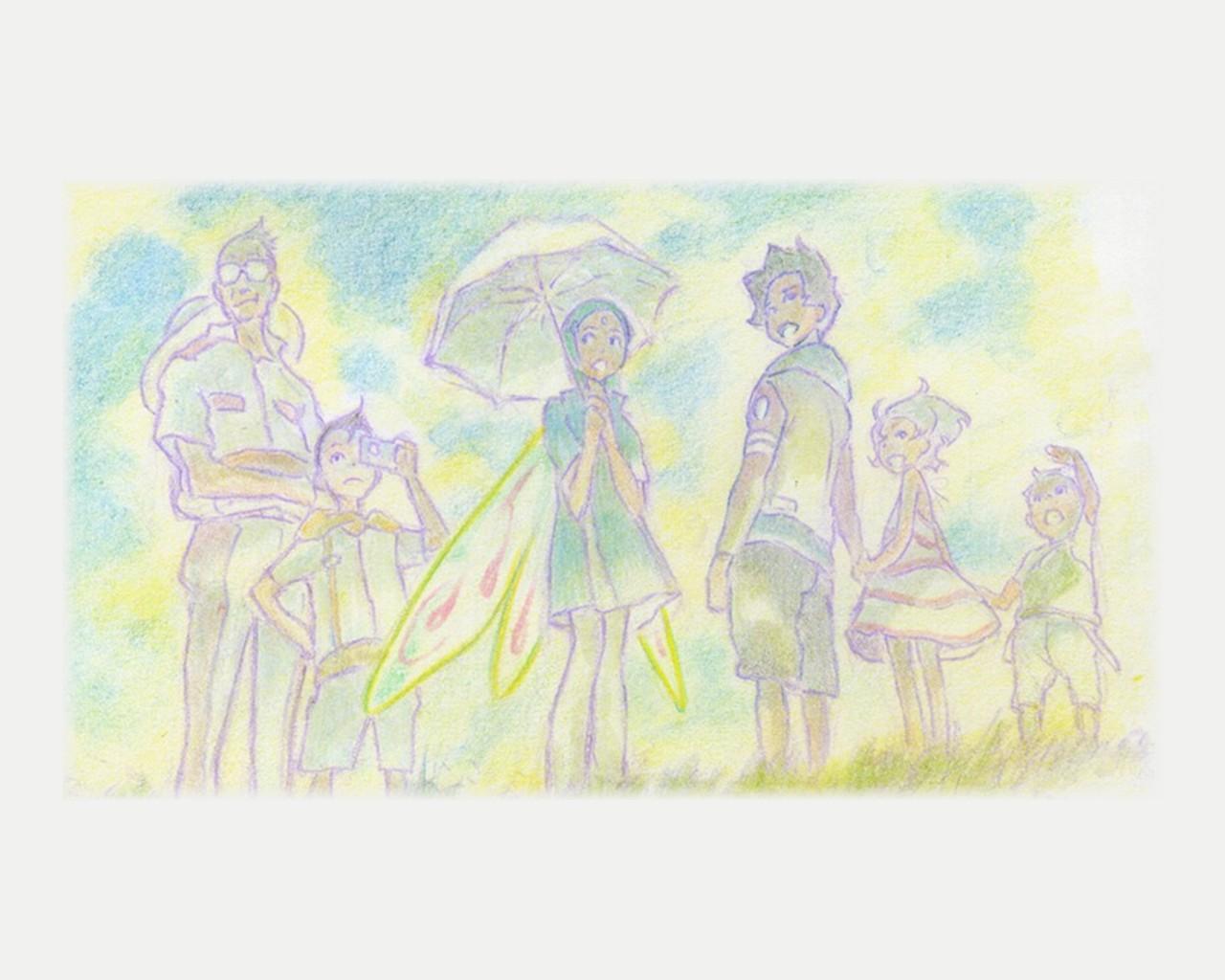 axel_thurston eureka eureka_seven link maeter maurice renton_thurston umbrella wings