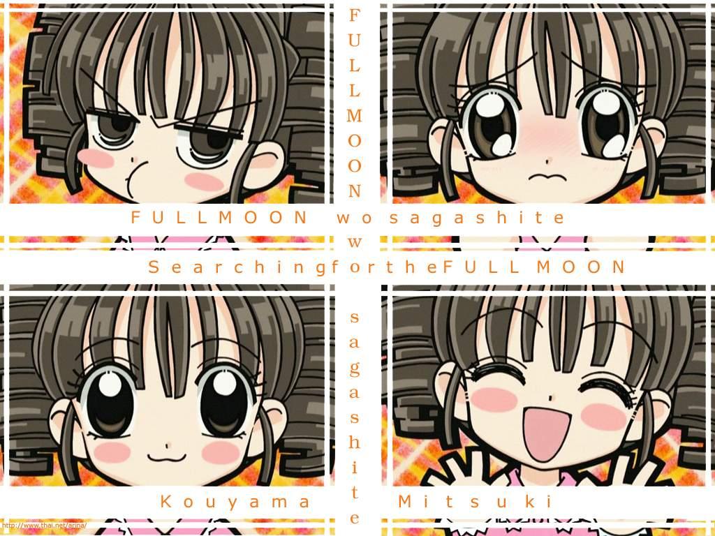 arina_tanemura black_eyes black_hair chibi full_moon_wo_sagashite koyama_mitsuki