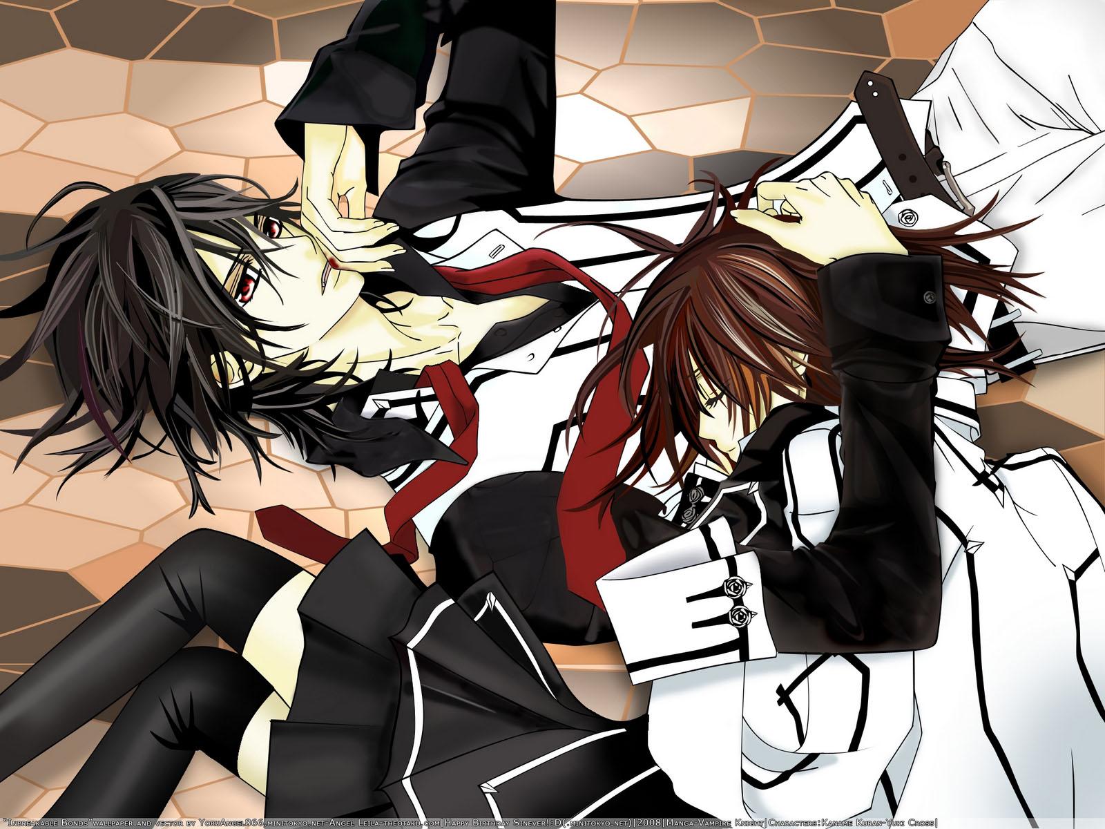 Moonlight Summoner's Anime Sekai: Vampire Knight ヴァンパイア騎士 ...  Vampire Knight Kaname Wallpaper