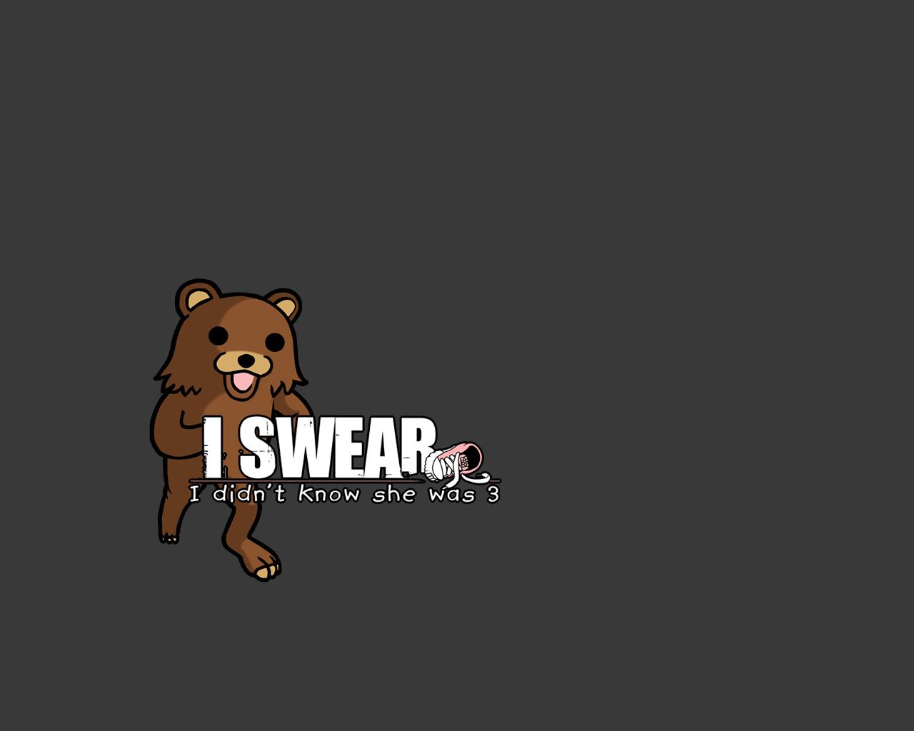animal bear pedobear