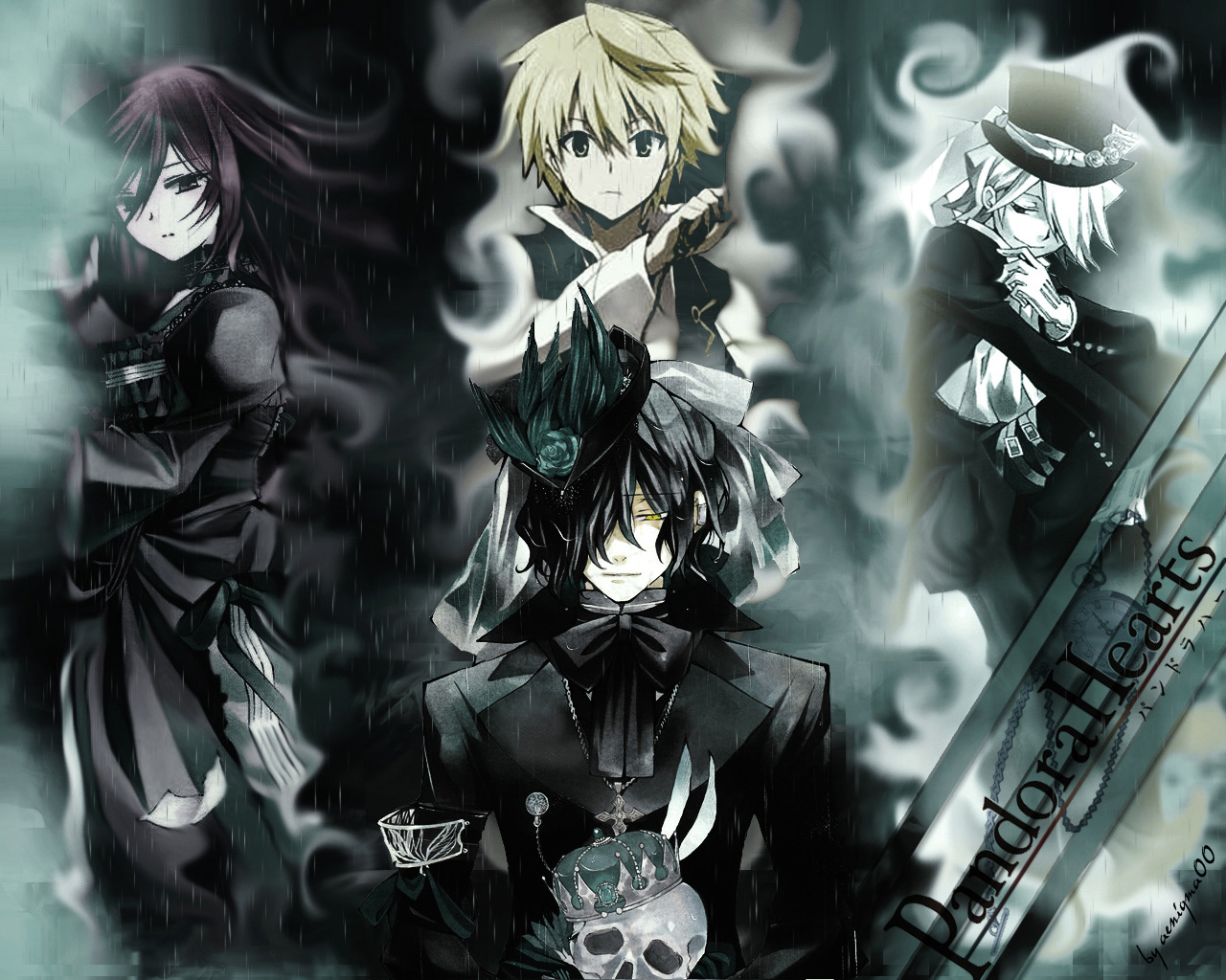 alice_(pandora_hearts) oz_vessalius pandora_hearts vincent_nightray xerxes_break