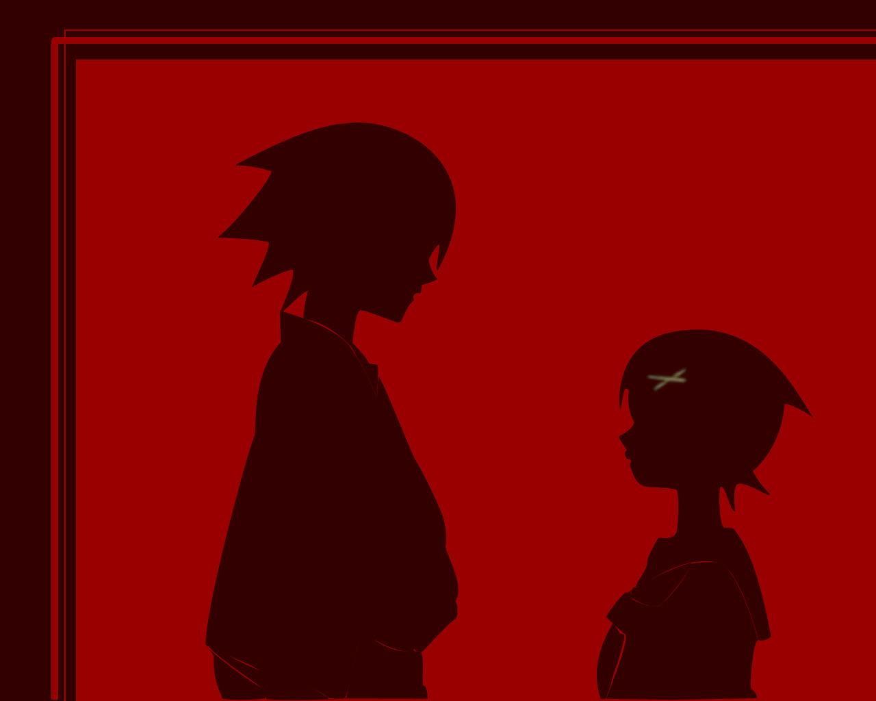 fuura_kafuka itoshiki_nozomu jpeg_artifacts male red sayonara_zetsubou_sensei silhouette