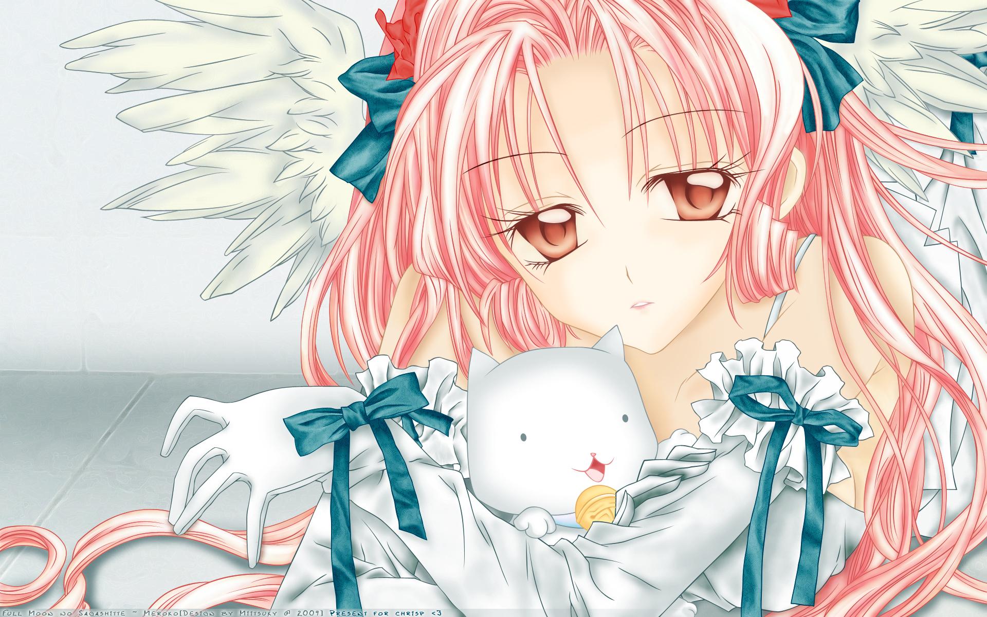 angel arina_tanemura full_moon_wo_sagashite meroko_yui takuto_kira
