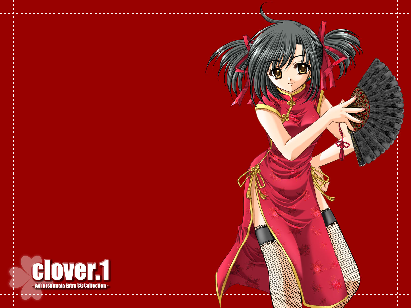 chinese_dress nishimata_aoi red