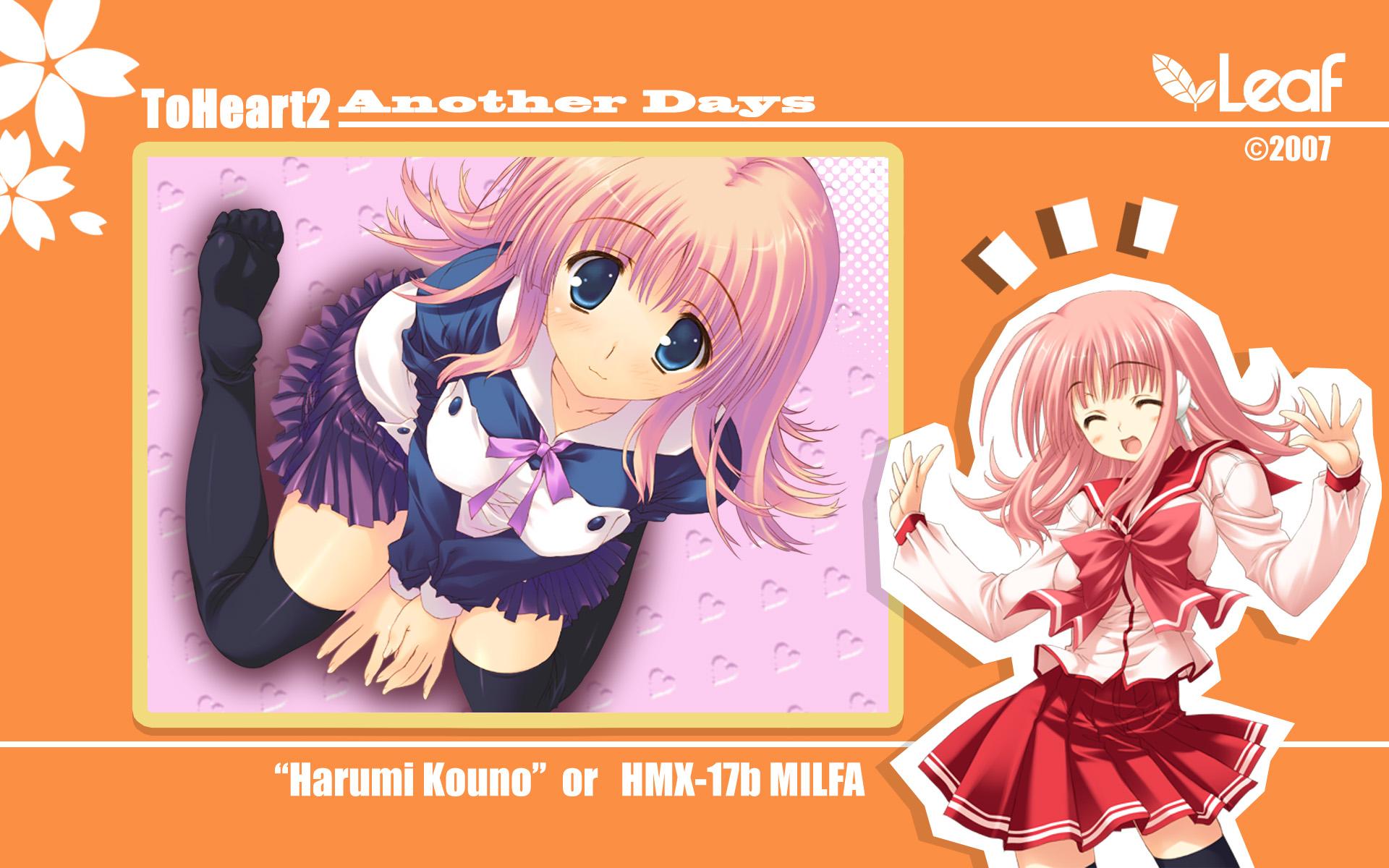 aquaplus kouno_harumi leaf mitsumi_misato to_heart to_heart_2 to_heart_2_another_days