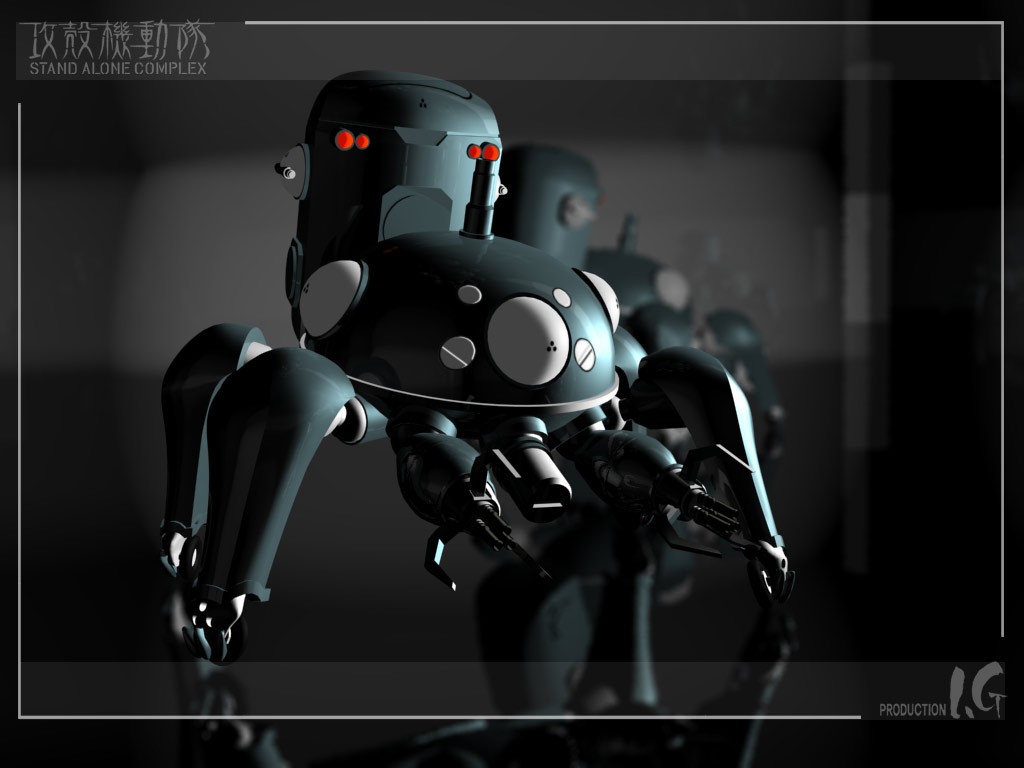 3d ghost_in_the_shell ghost_in_the_shell:_stand_alone_complex tachikoma