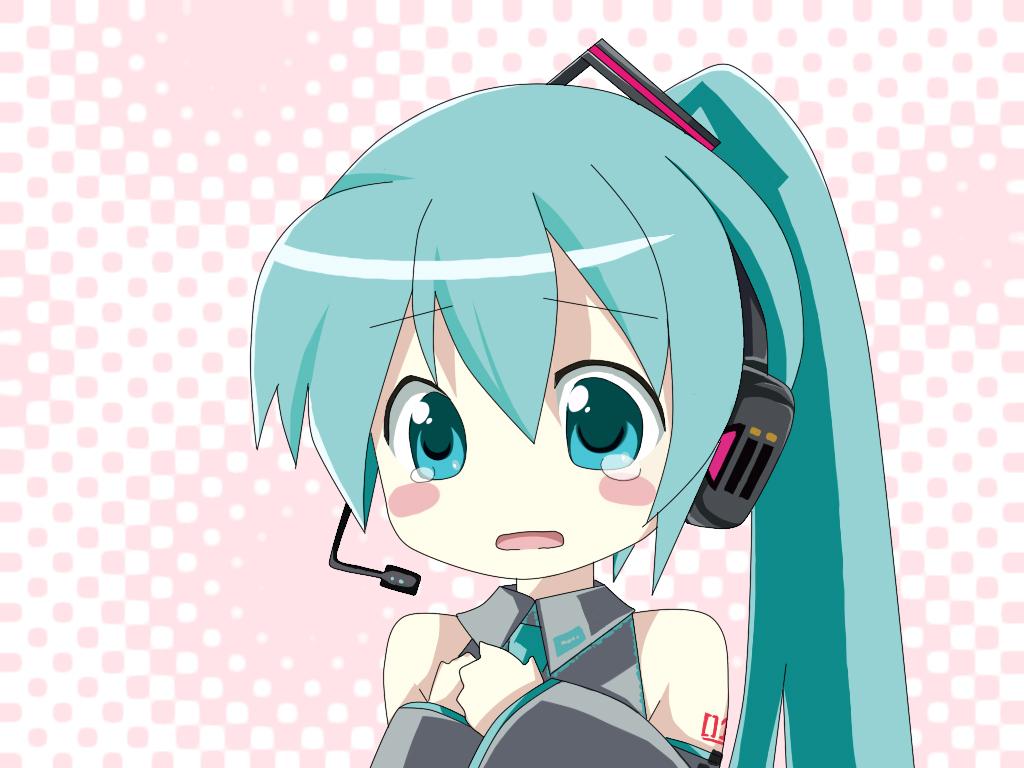 Anime Chibi Vocaloid
