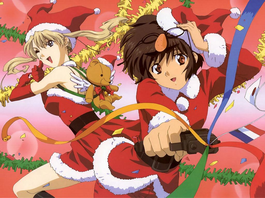 christmas gun mireille_bouquet noir weapon yuumura_kirika