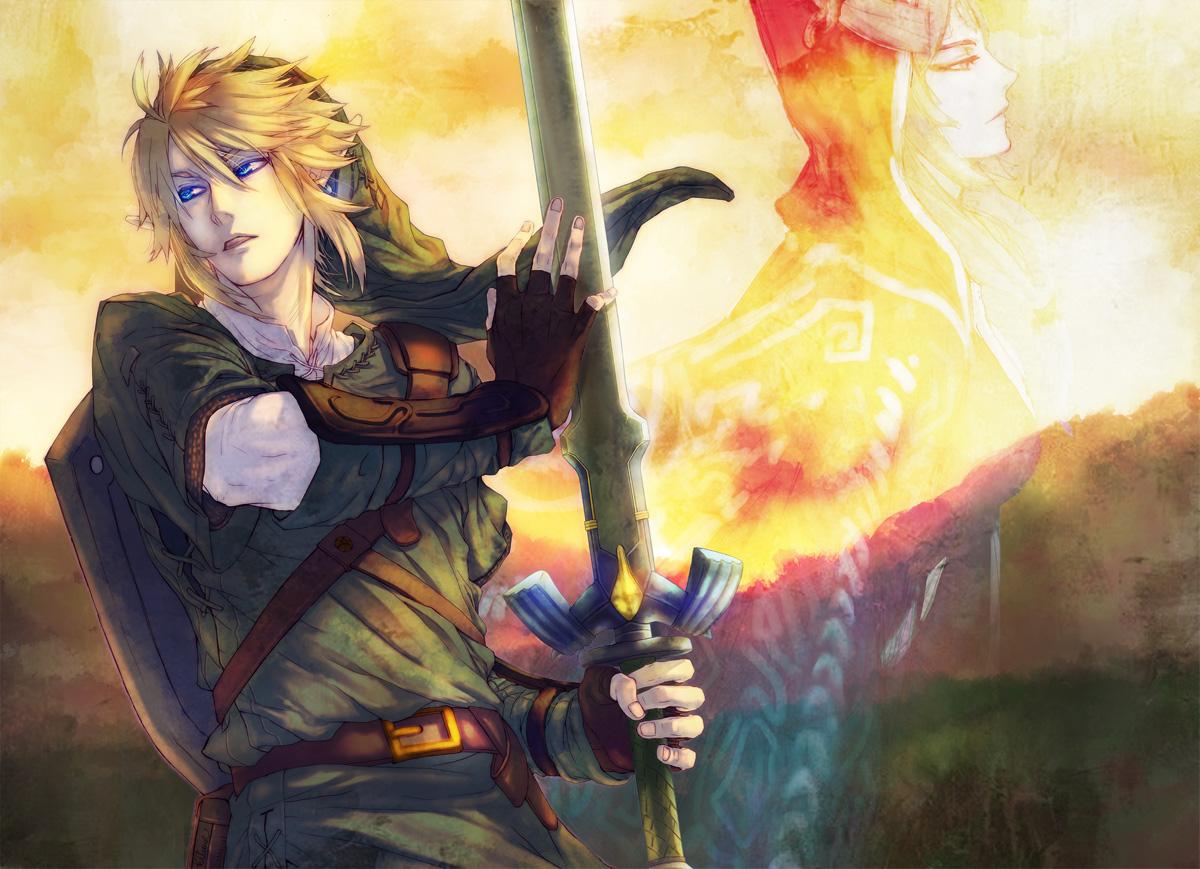 kitunen link_(zelda) midna pointed_ears the_legend_of_zelda