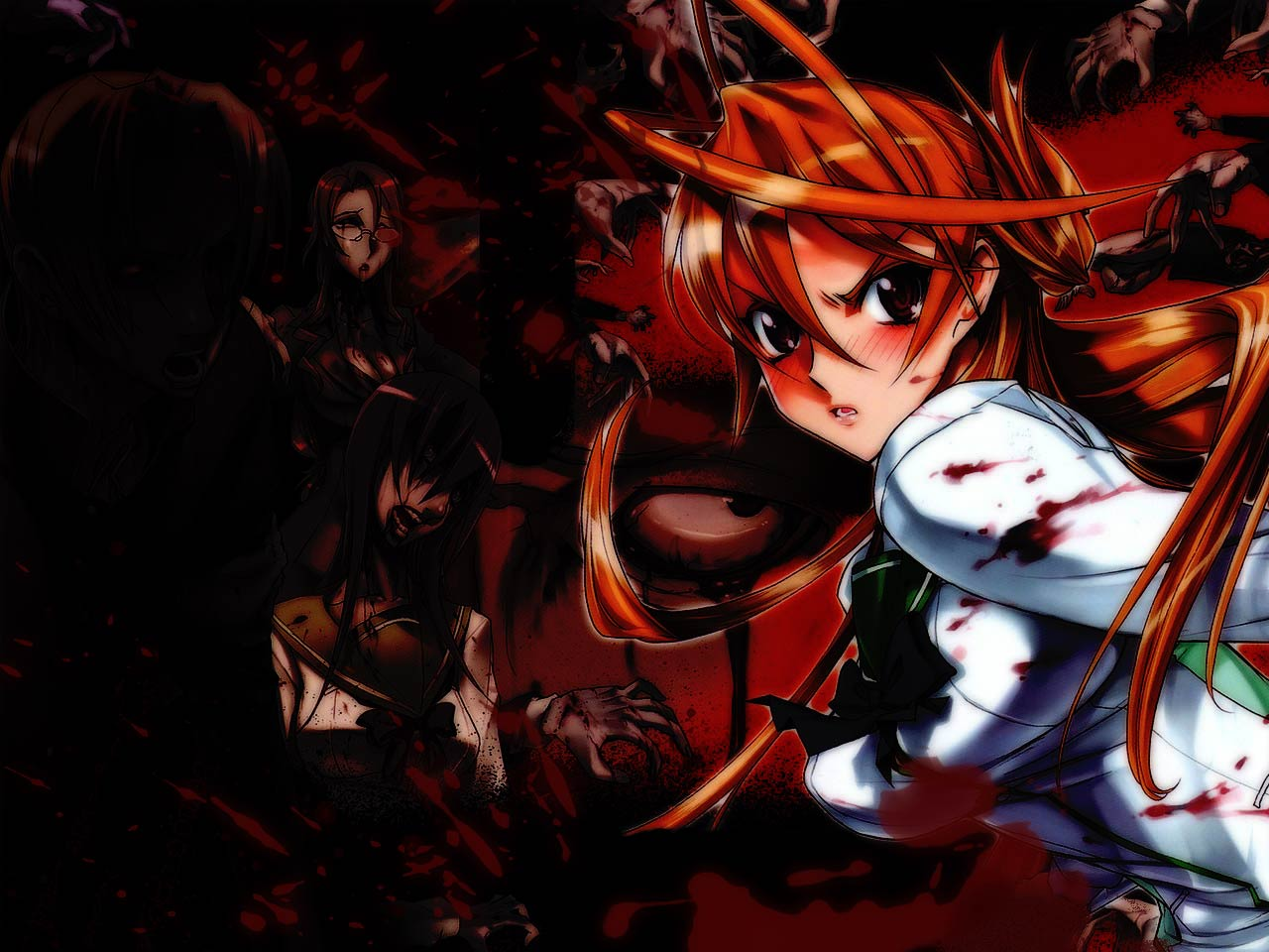 highschool_of_the_dead miyamoto_rei