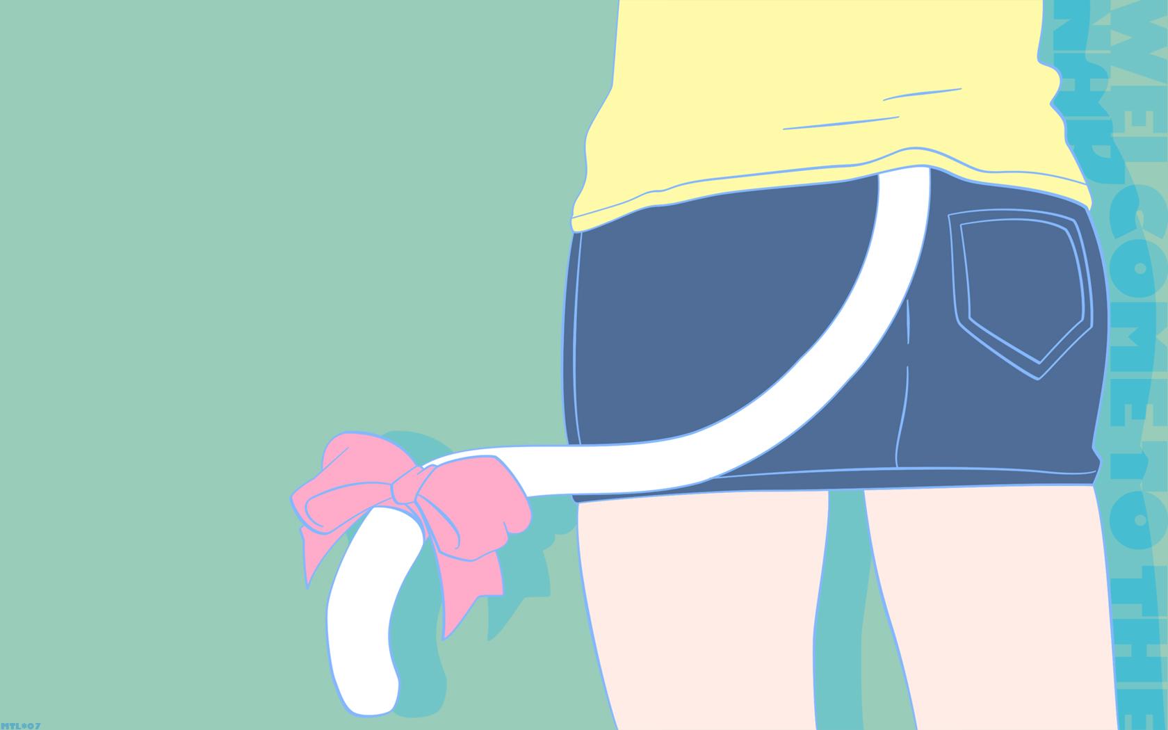 catgirl green nakahara_misaki nhk_ni_youkoso tail