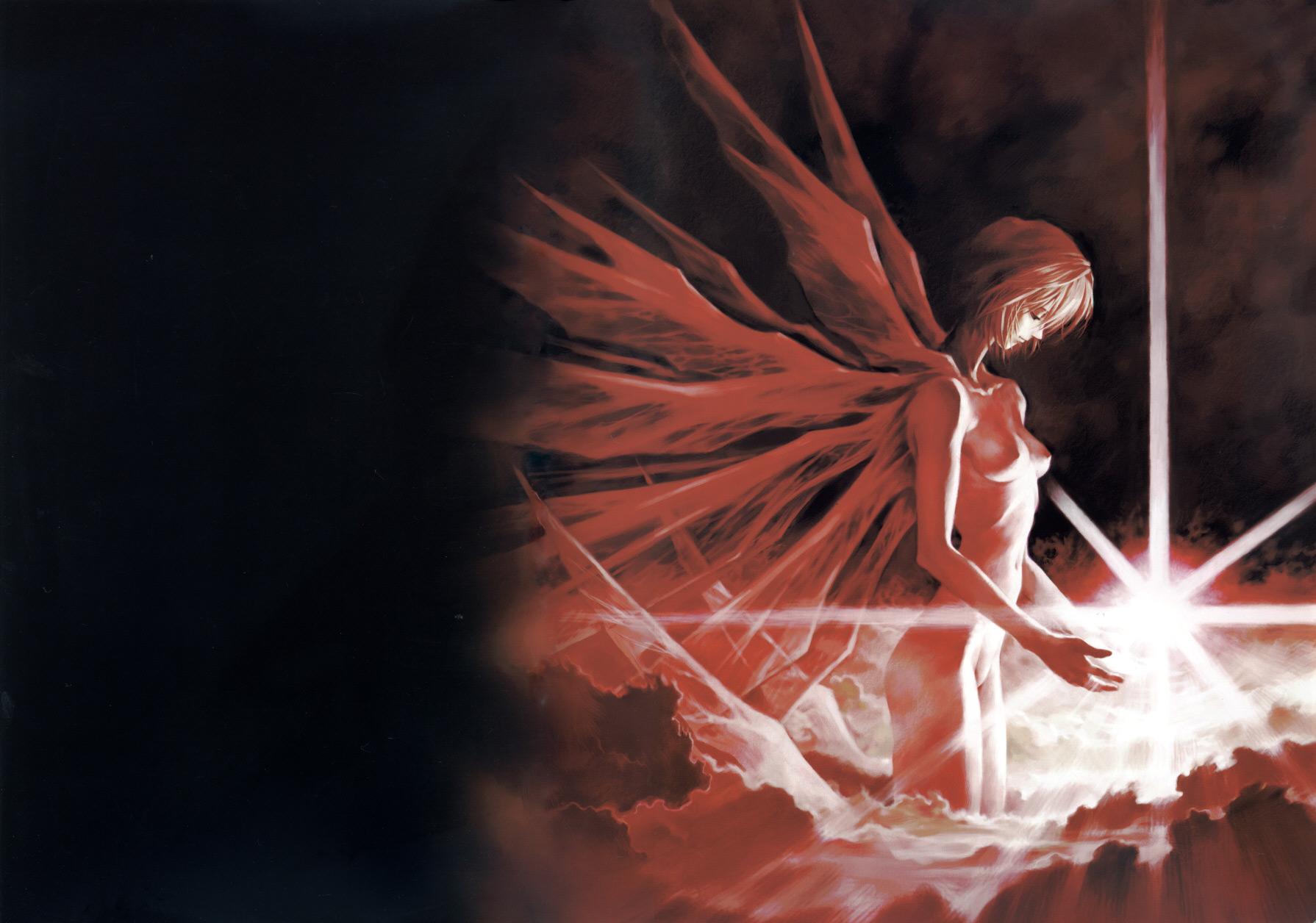 ayanami_rei neon_genesis_evangelion wings