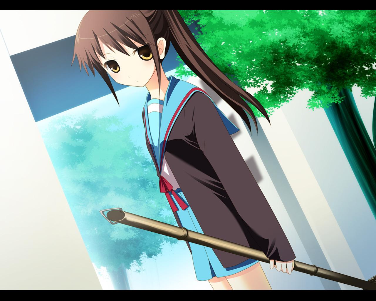 genderswap kyonko school_uniform suzumiya_haruhi_no_yuutsu