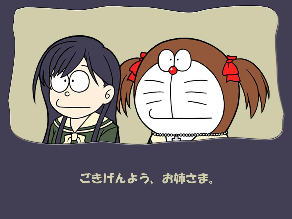 doraemon fukuzawa_yumi maria-sama_ga_miteru ogasawara_sachiko parody