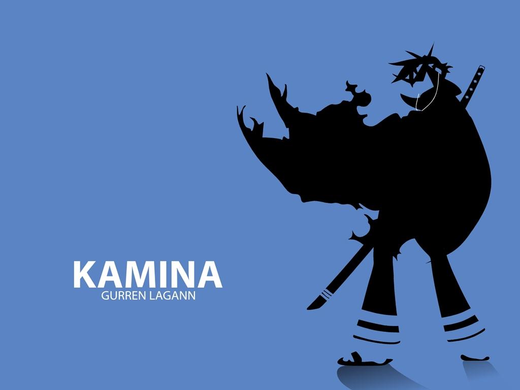 blue gainax ipod kamina parody silhouette sword tengen_toppa_gurren_lagann weapon
