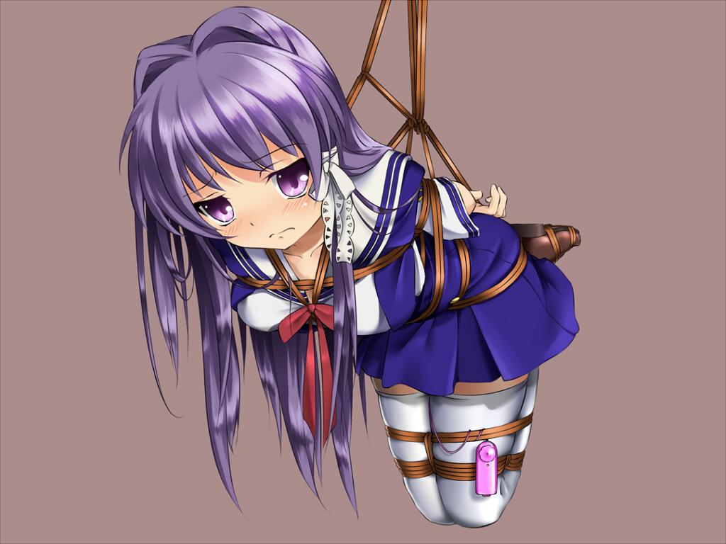 blush bondage brown clannad fujibayashi kyou fumi11gou
