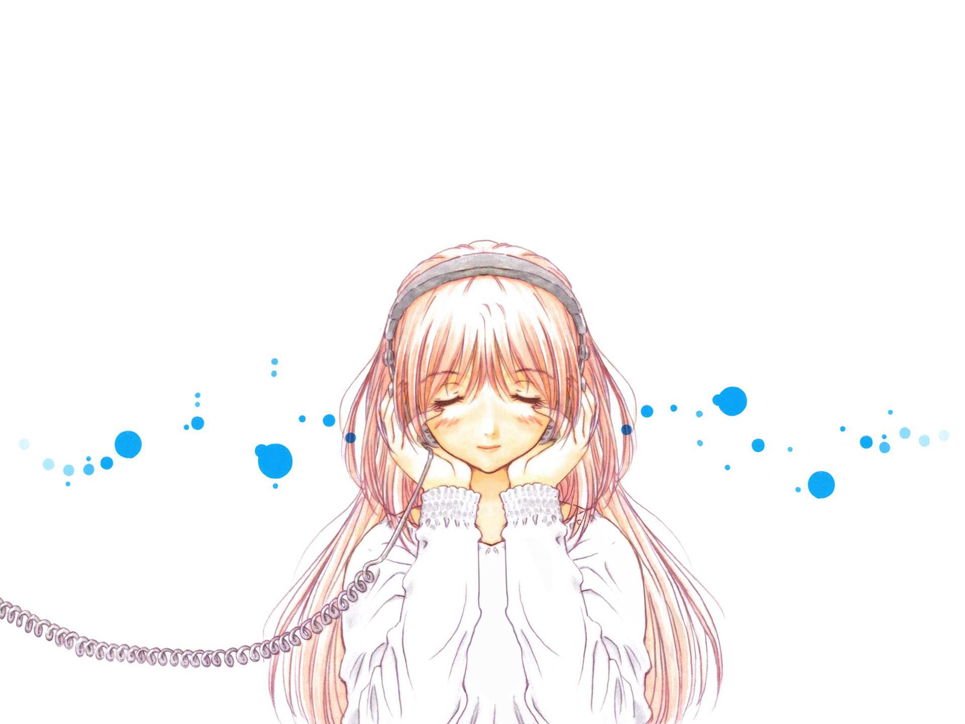 headphones kazami_mizuho onegai_teacher white