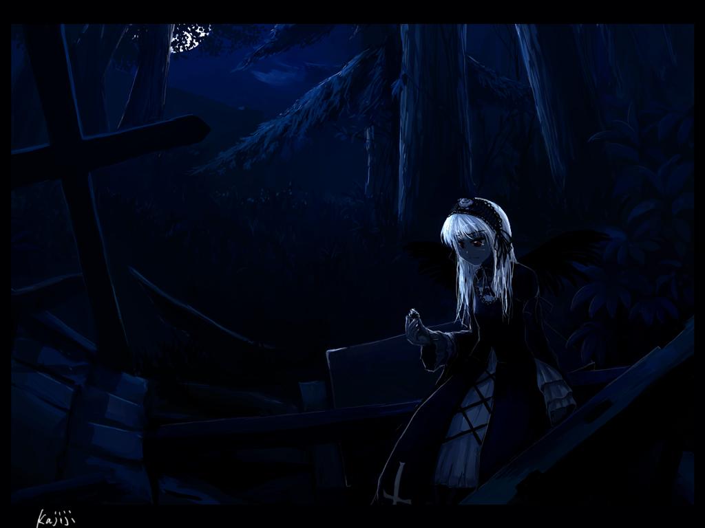 dark rozen_maiden suigintou