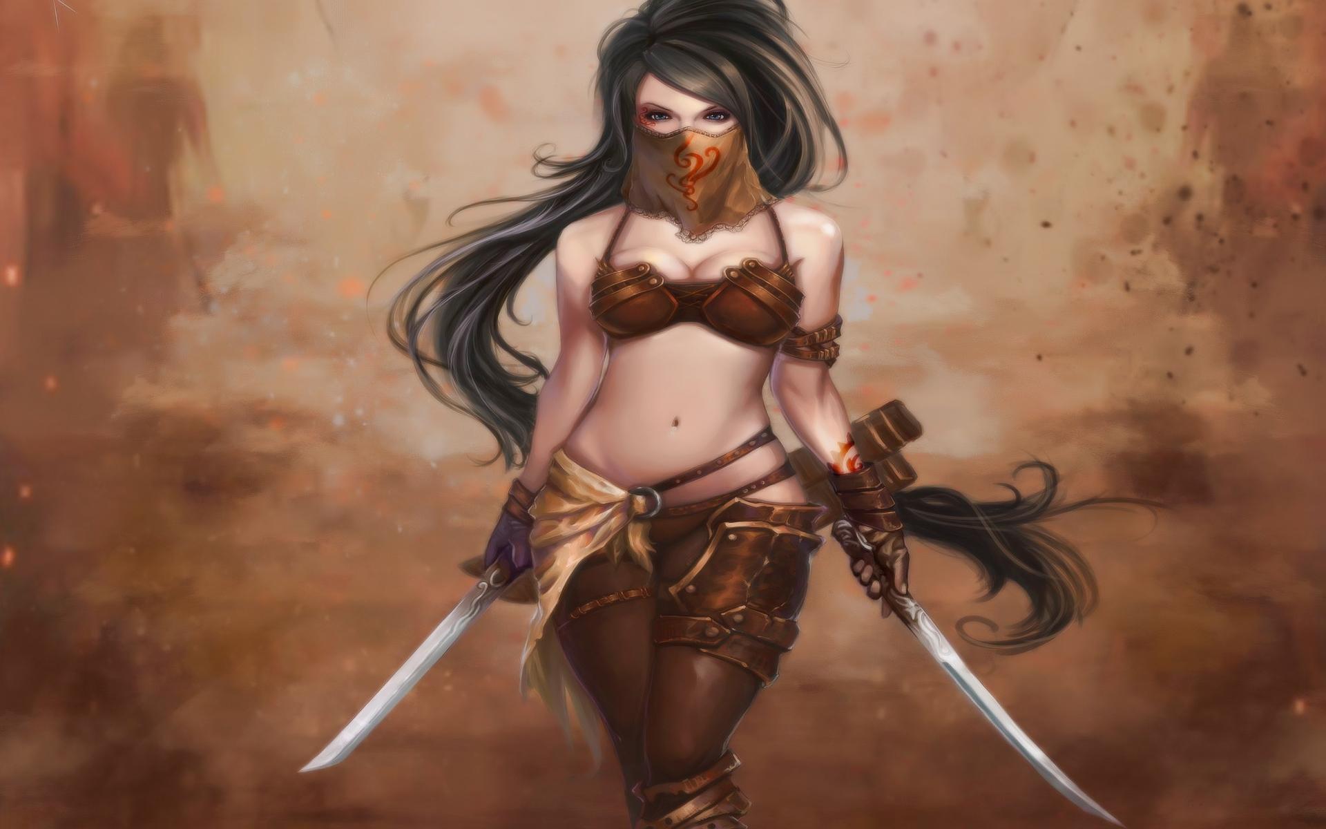3d hentai babe in armor sexy photo