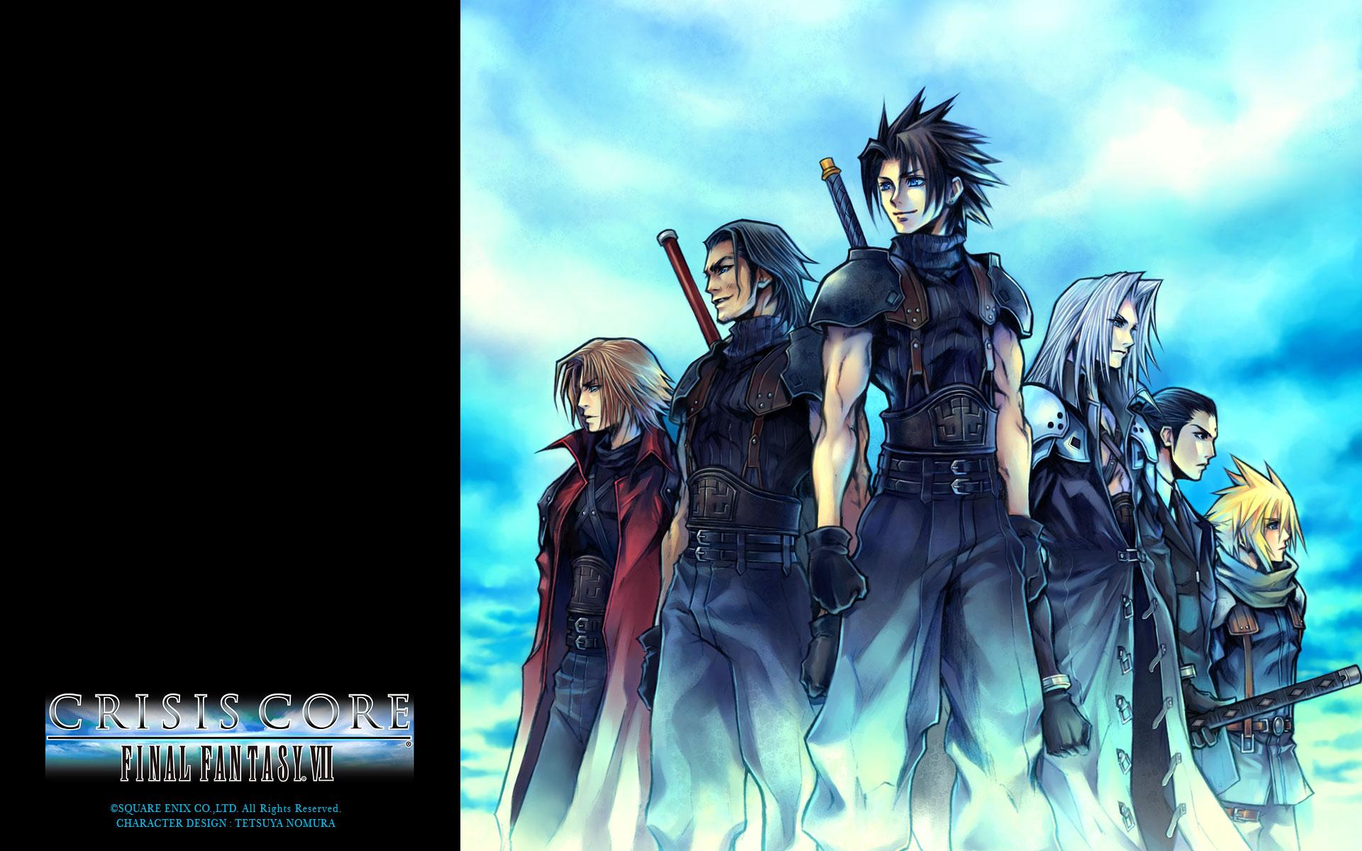 Cloud Strife Crisis Core Final Fantasy Vii Final Fantasy Final