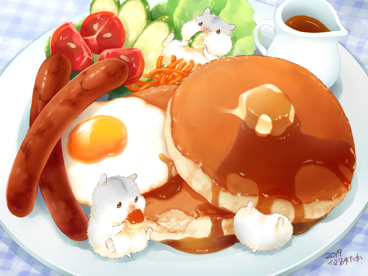 animal food nobody original signed yutaka_kana