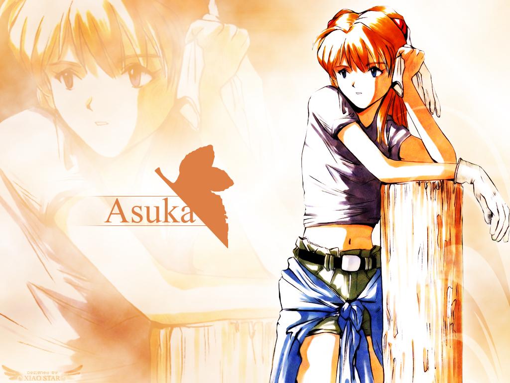 blue_eyes gloves long_hair navel neon_genesis_evangelion orange_hair shorts soryu_asuka_langley zoom_layer