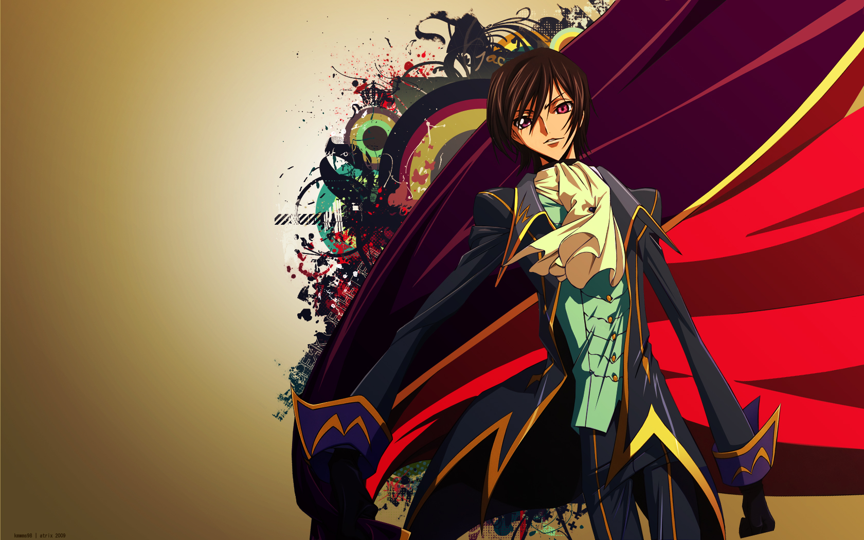 code_geass lelouch_lamperouge