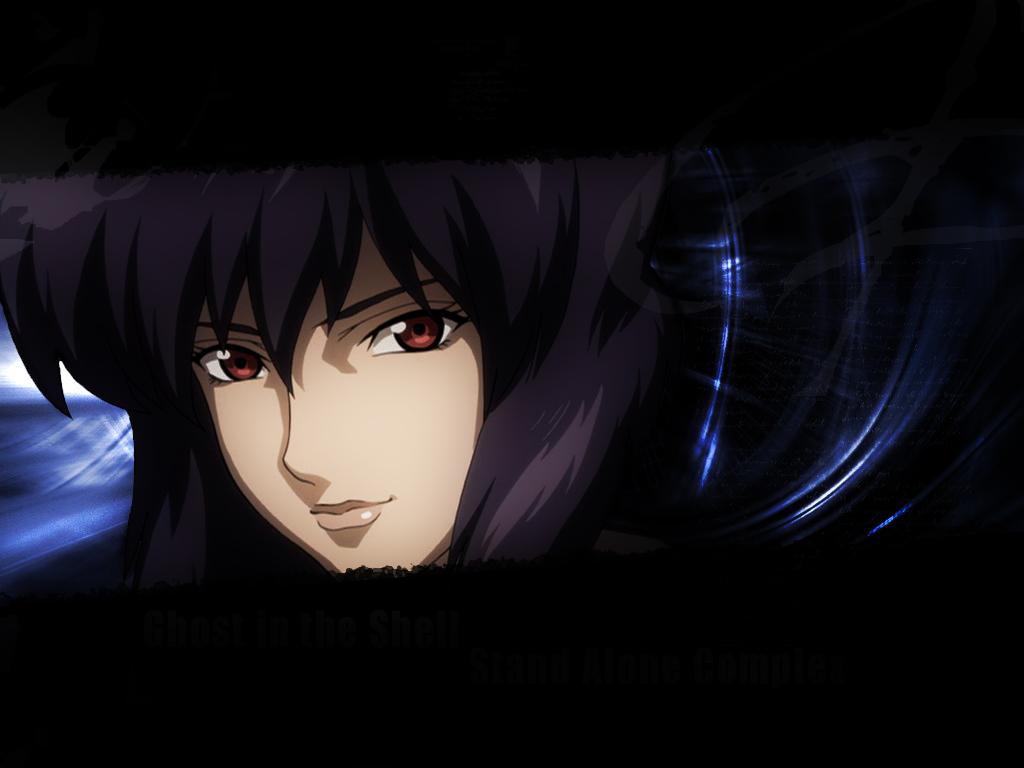 Ghost in the shell kusanagi motoko red eyes anime wallpapers - Motoko kusanagi wallpaper ...