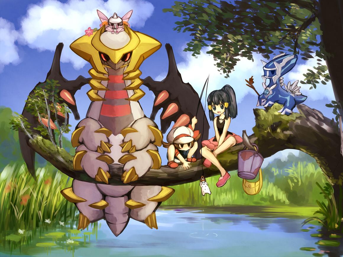 pokemon black how to get giratina