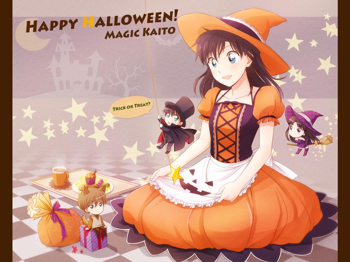 arya_(artist) halloween kuroba_kaitou magic_kaito nakamori_aoko