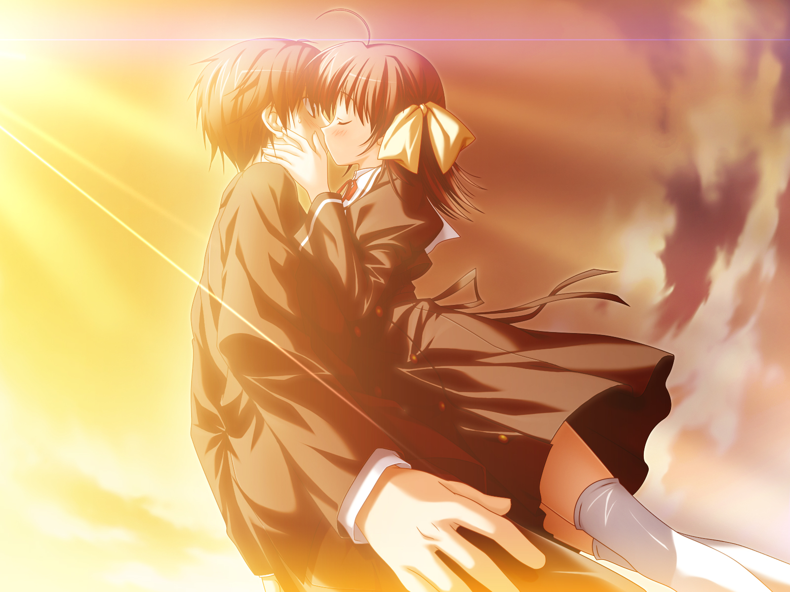 Ef A Fairy Tale Of Two Kissing Cg 45