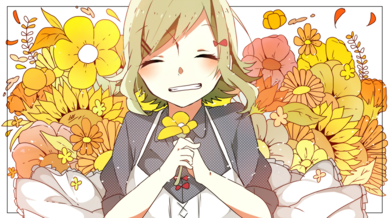 flowers gumi shime_no_sora vocaloid