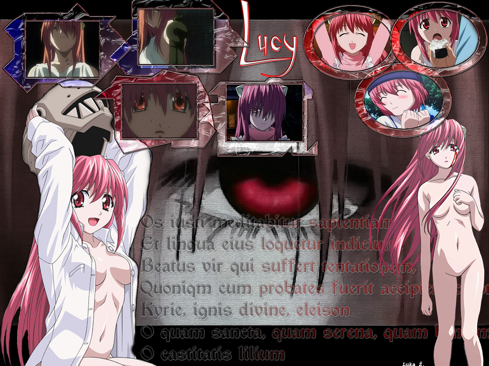 El Manga de Elfen Lied - ONLINE Konachan.com%20-%2025913%20collage%20elfen_lied%20gun%20lucy%20nude