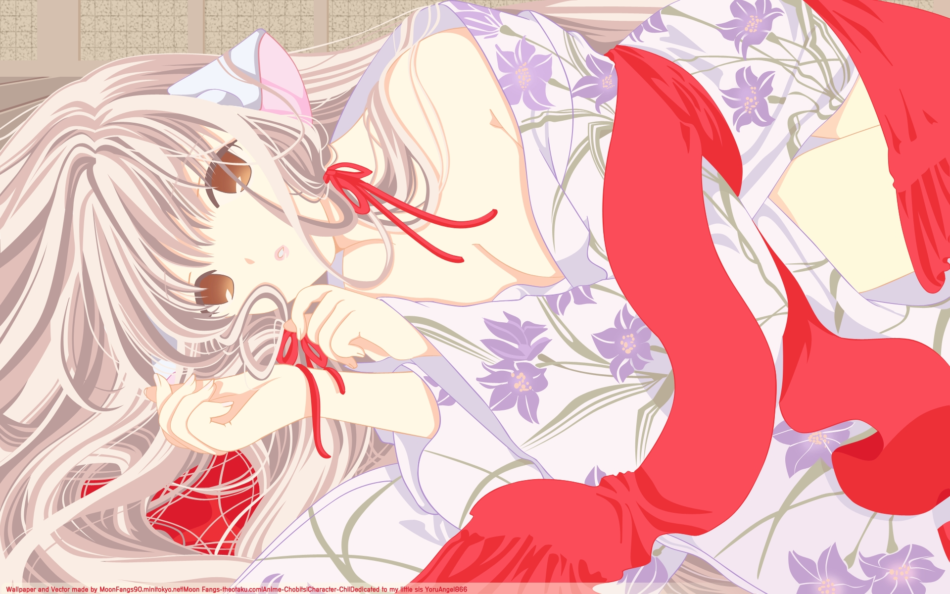 chii chobits clamp signed vector watermark