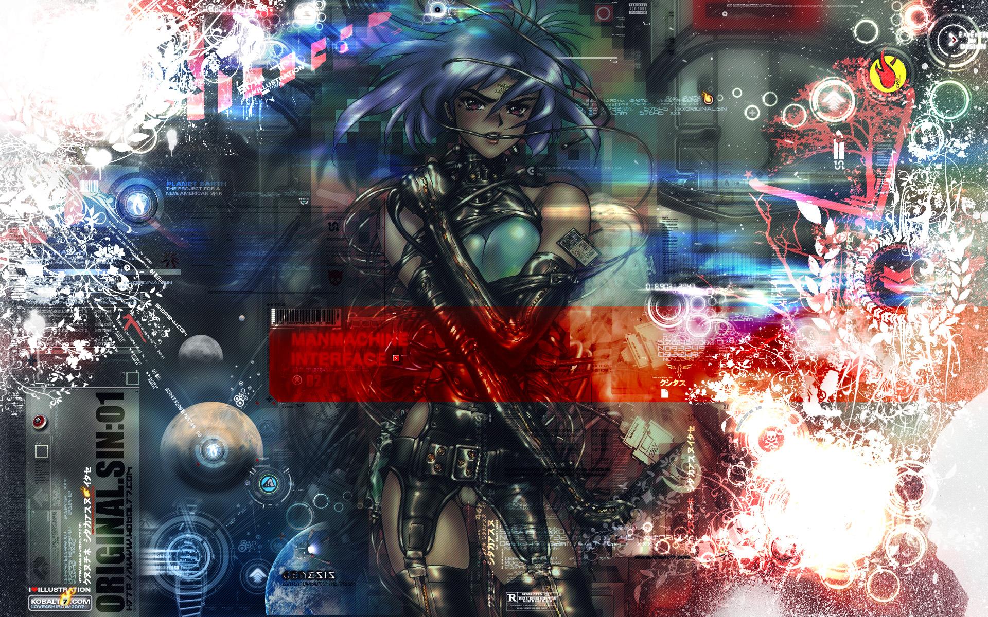 ghost_in_the_shell kusanagi_motoko shirow_masamune techgirl