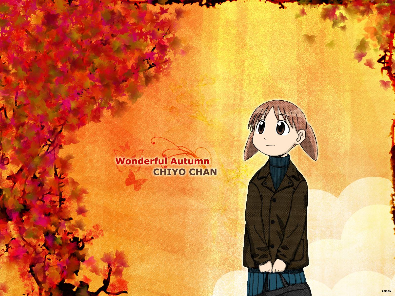 autumn azumanga_daioh mihama_chiyo