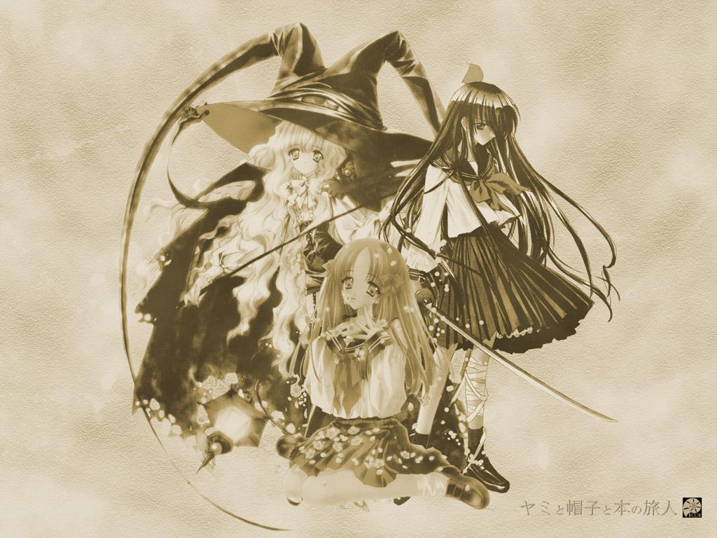azuma_hatsumi azuma_hazuki carnelian lilith_(yami_to_boushi_to_hon_no_tabibito) yami_to_boushi_to_hon_no_tabibito