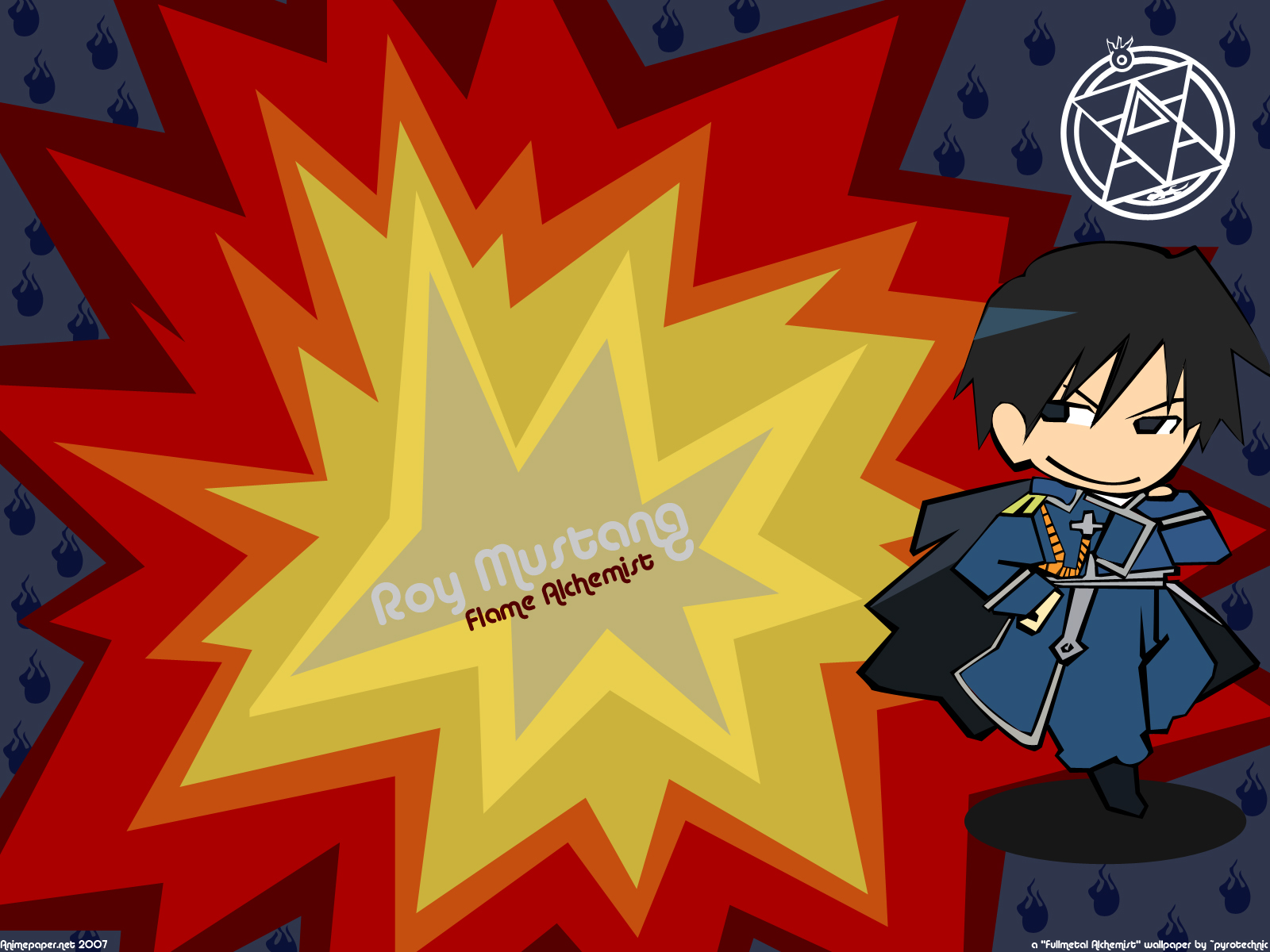 fullmetal_alchemist roy_mustang uniform
