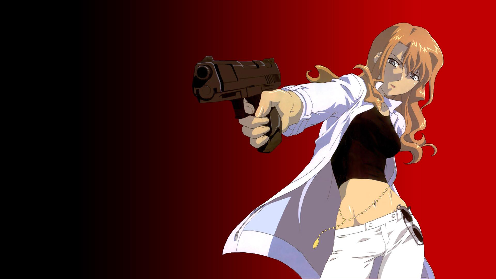 gun mireille_bouquet noir weapon