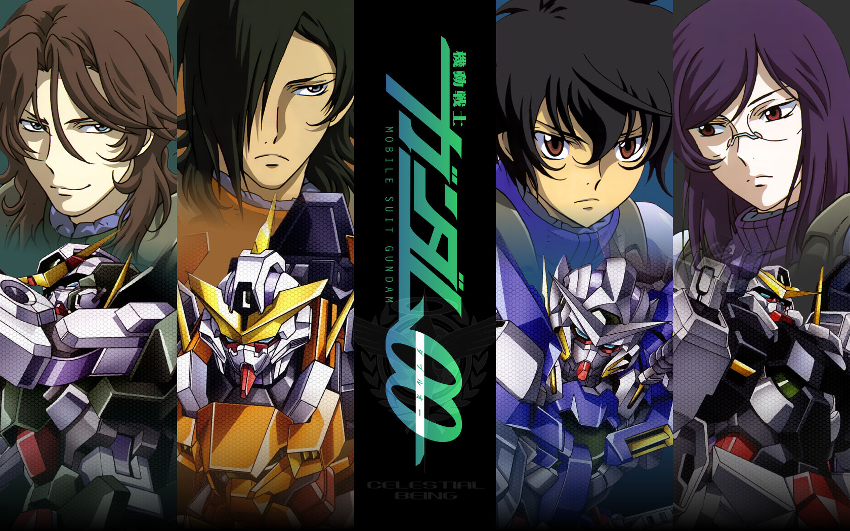 Allelujah Haptism Lockon Stratos Male Mobile Suit Gundam Mobile Suit Gundam 00 Setsuna F Seiei Tieria Erde Konachan Com Konachan Com Anime Wallpapers