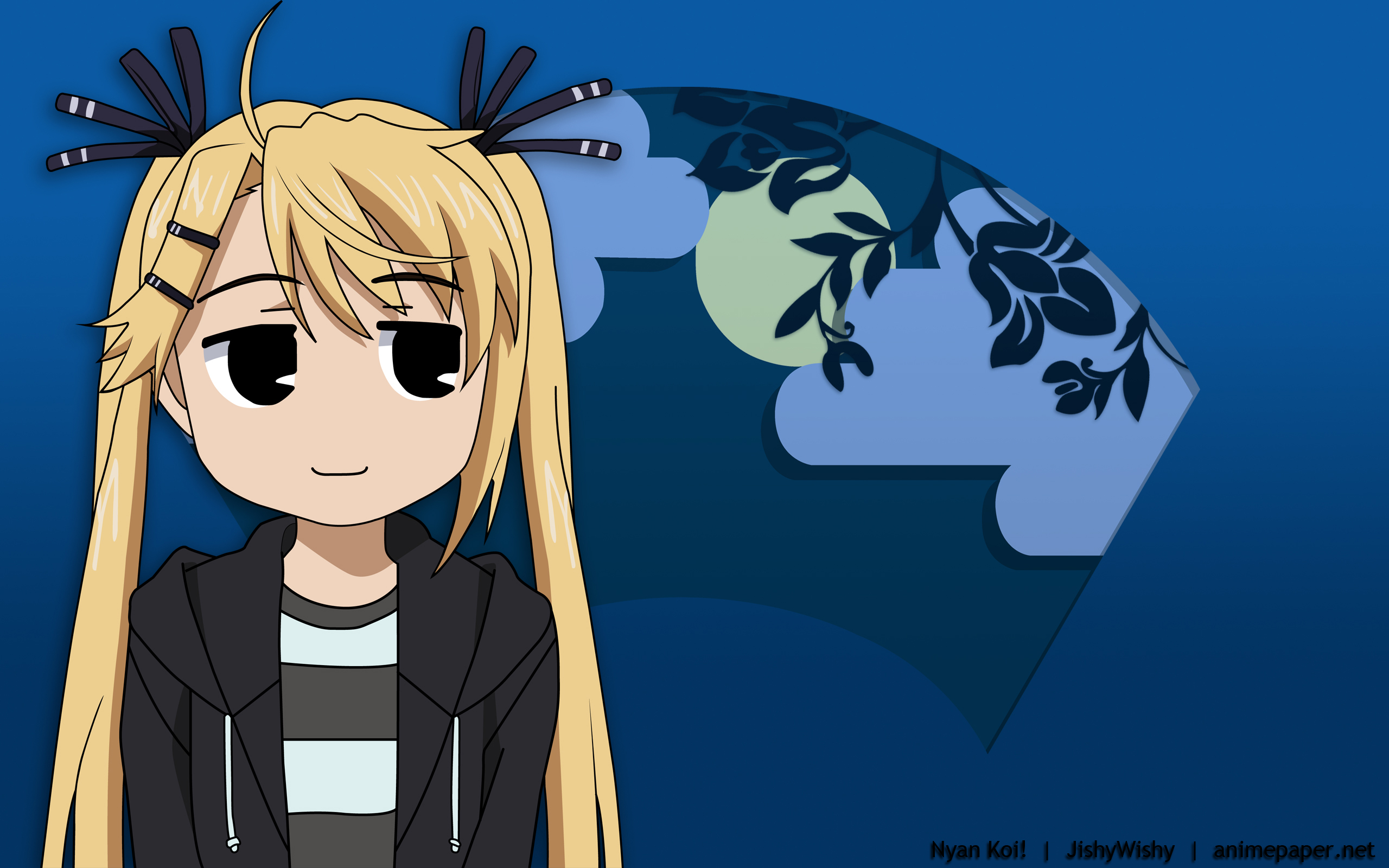 Kirishima kotone nyan koi signed tagme watermark for Nyan koi pool