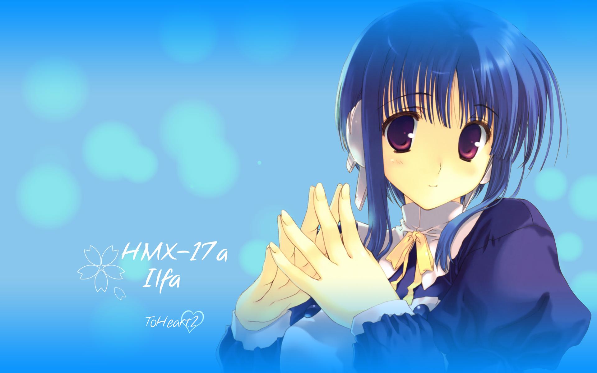 aquaplus ilfa leaf mitsumi_misato to_heart to_heart_2
