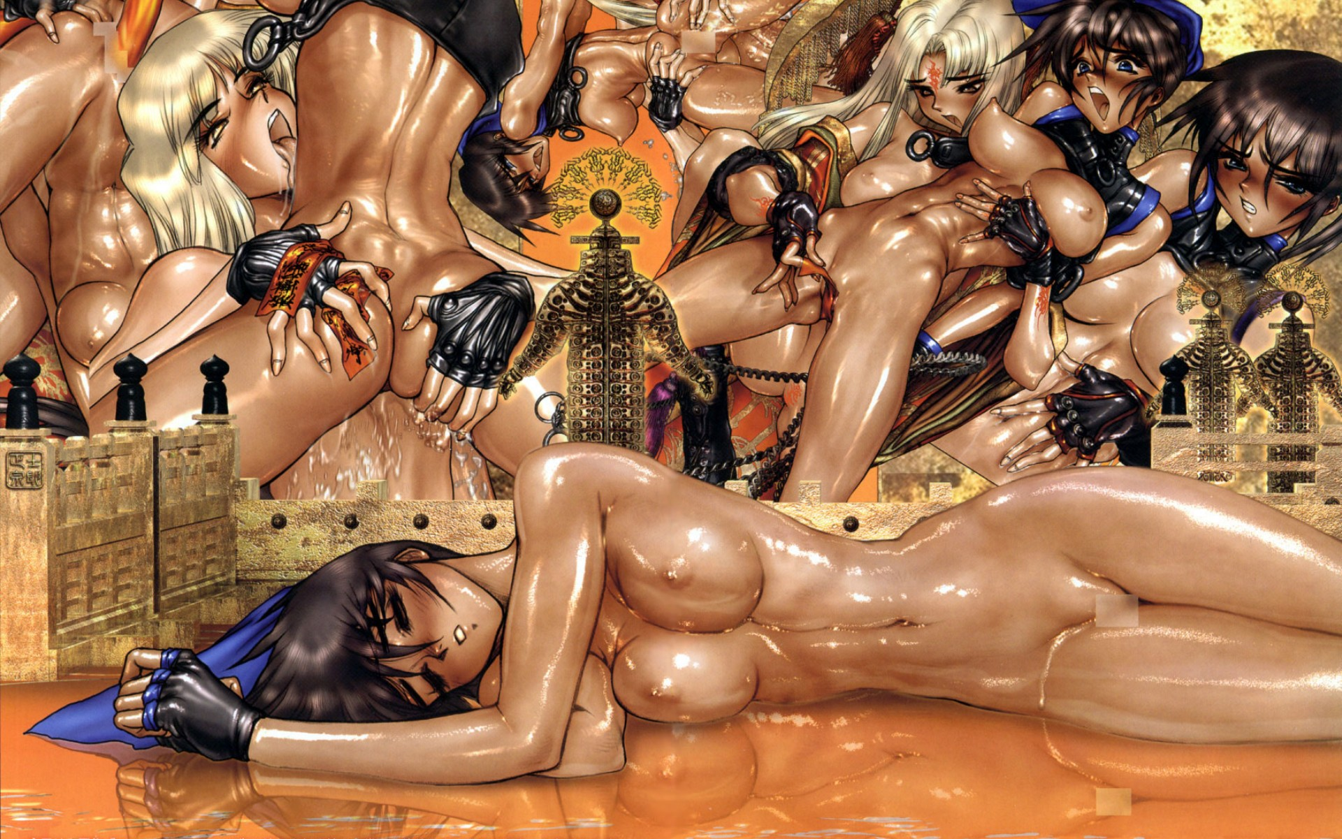 censored nipples nude shirow_masamune tagme