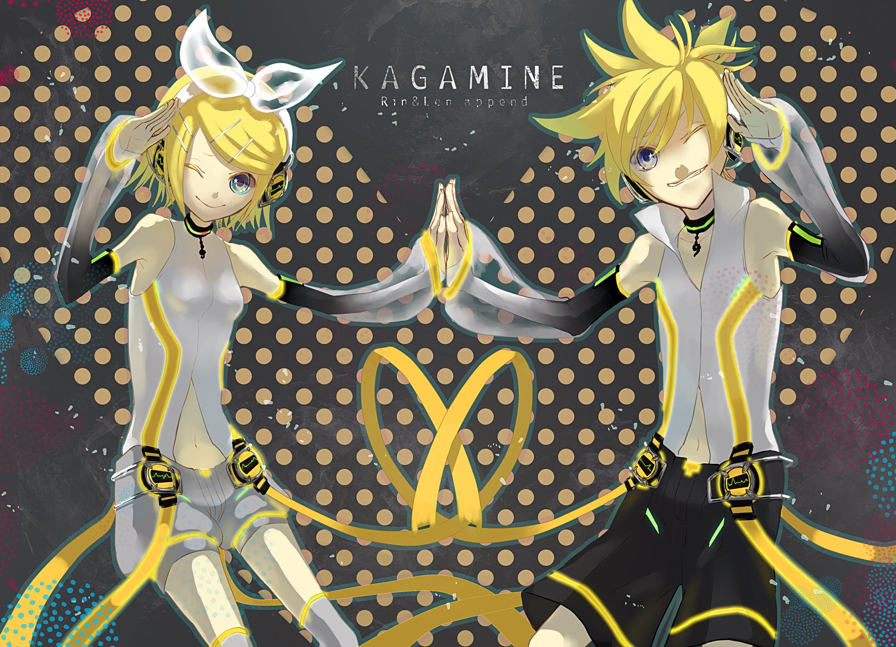 kagamine_len kagamine_rin len_append male rin_append vocaloid