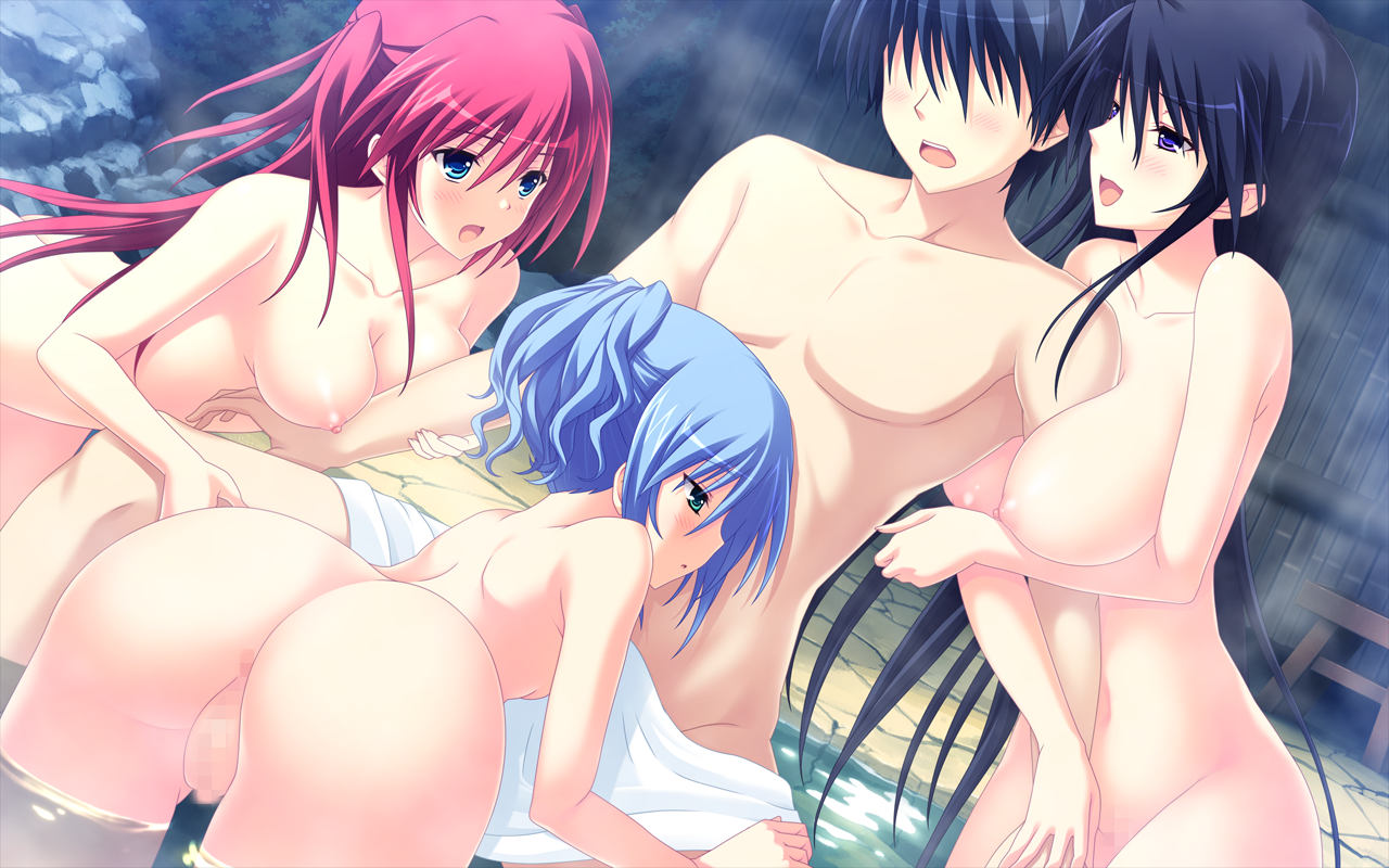 Hentai Cgs inside aridome mao ass breasts censored game cg group habuka riko nipples