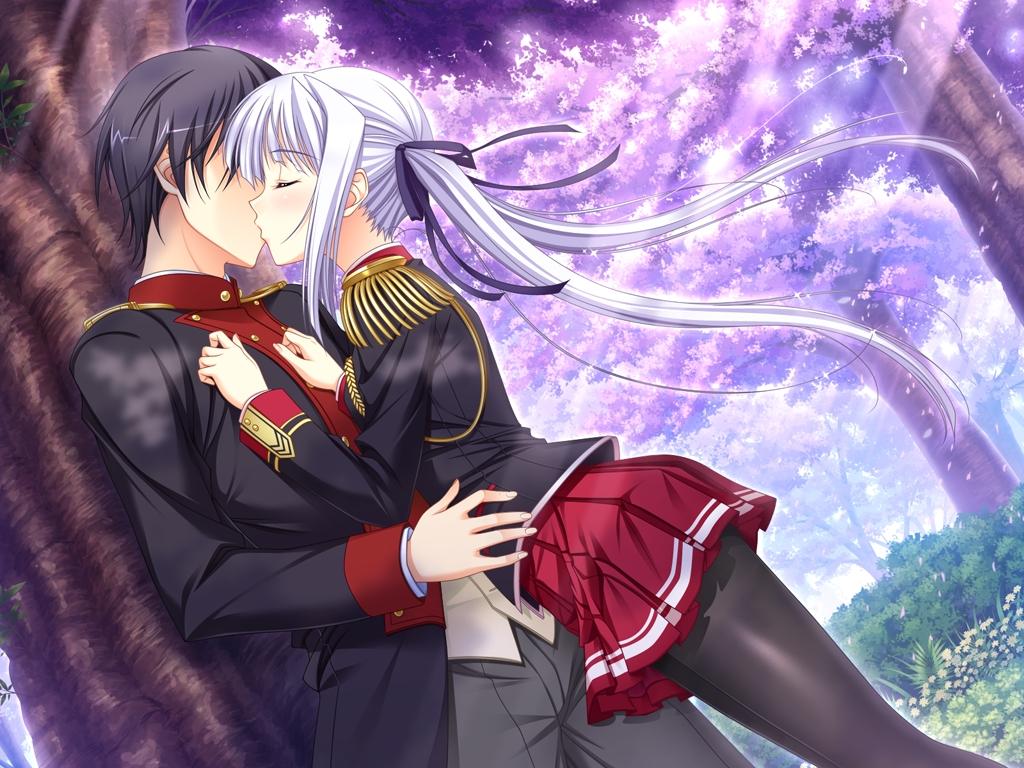 game_cg kiss komori_kei lisa_eostre male mizuno_takahiro ricotta walkure_romanze