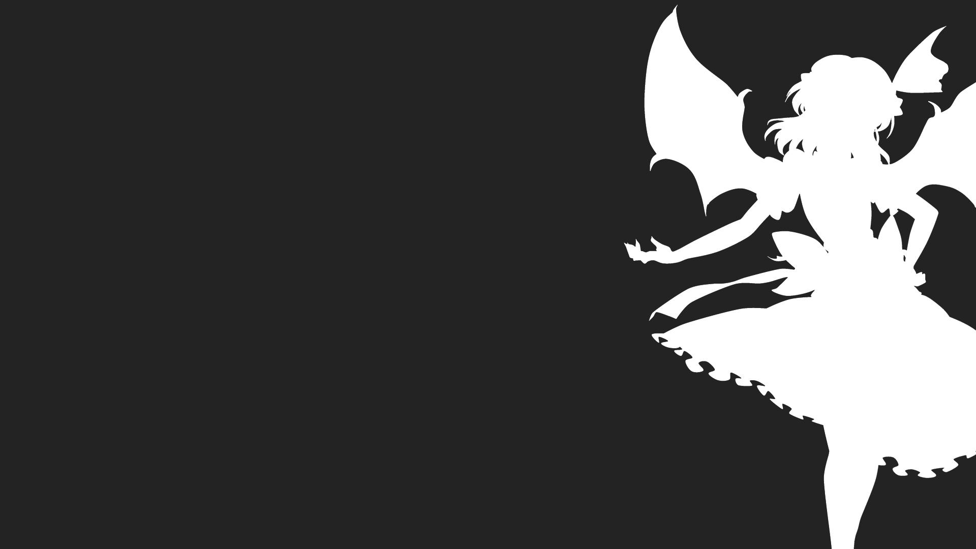 Vampire Profile Silhouette kitazinger monochrome ...