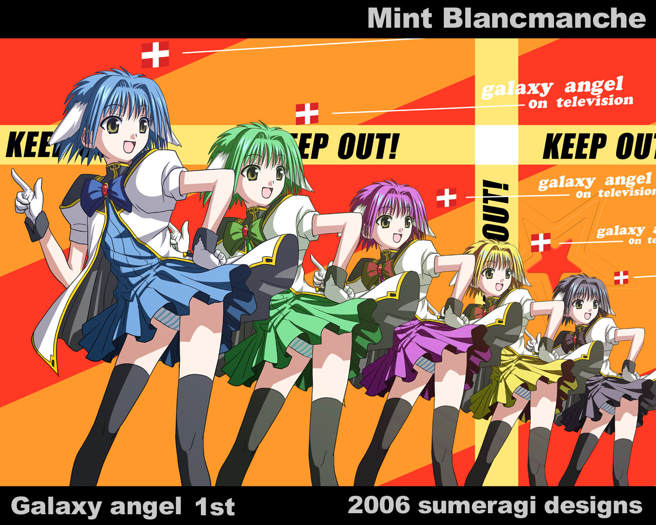 blue_hair galaxy_angel galaxy_angel_rune mint_blancmanche